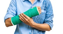 Man with a Broken Arm - Life Insurance